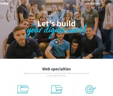 Optiweb – web specialties