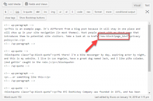 Links turned Sticky by WPML viewed within Classic editor