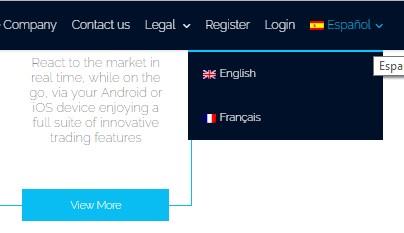 Language switcher is not align properly int he top menu - WPML