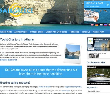 Sail Greece Yacht Charters