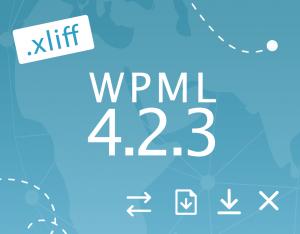 WPML 4.2.3 Release