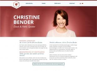 Christine Bender Coach & Public Speaker