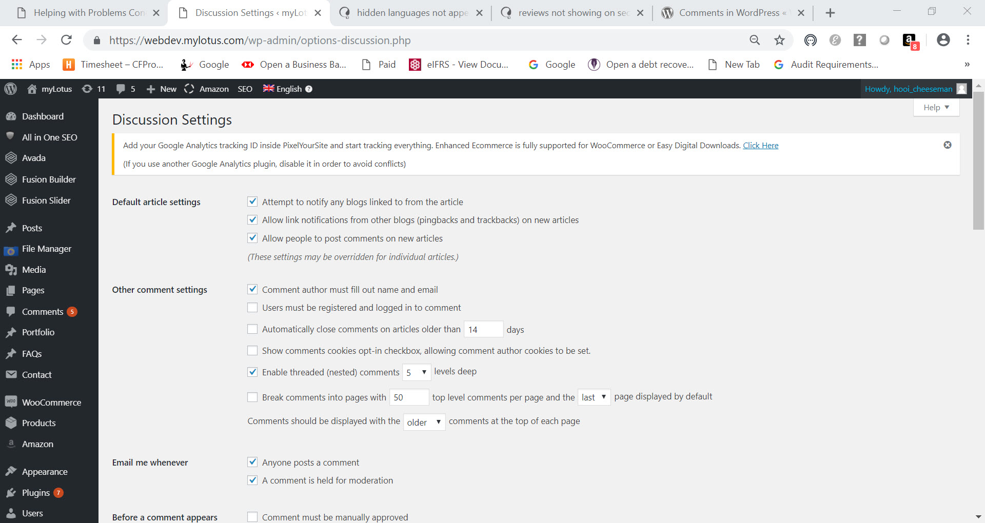 1. WP Discussion settings pg1 of 2 (webdev site).jpg