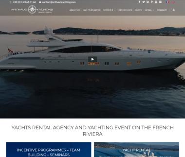 Arthaud Yachting – Agence événementielle nautique