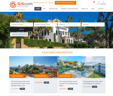 Real estate web directory