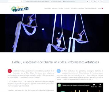 Eklabul, le spécialiste de l'Animation et des Performances Artistiques
