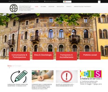 Ordine degli Assistenti Sociali della Regione Trentino Alto Adige