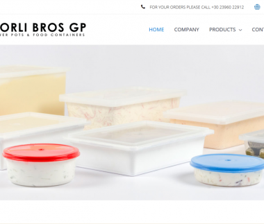 Tsorli Bros GP – Flower Pots & Food Containers