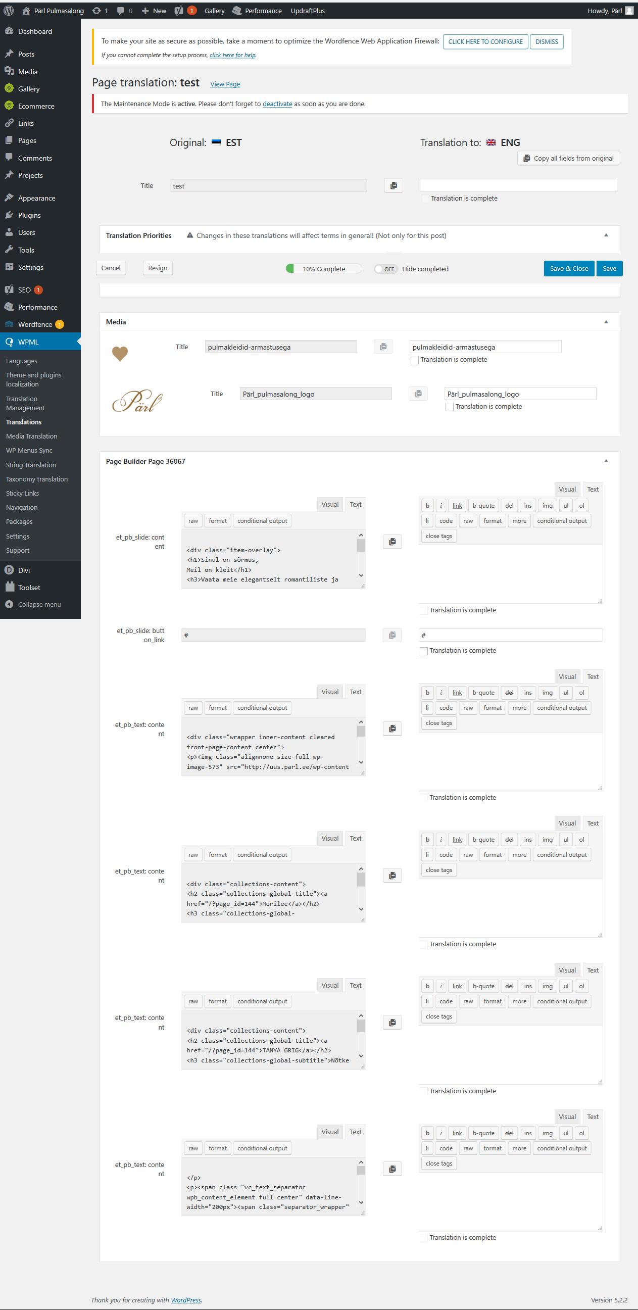 Screenshot_2019-06-30 Translations ‹ Pärl Pulmasalong — WordPress.png