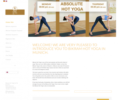 Bikram Hot Yoga im Tal, Munich
