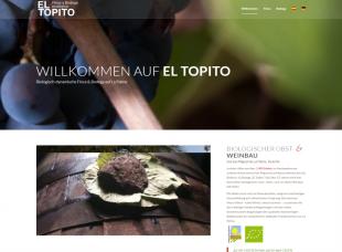 El Topito – organic farm and winery.