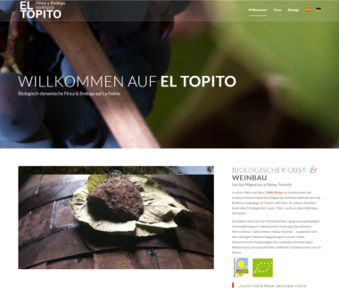 El Topito – organic farm and winery.