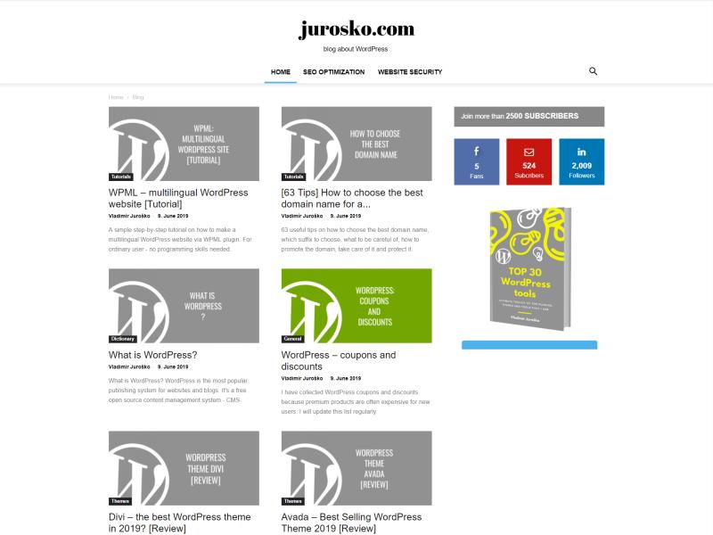 jurosko - blog about WordPress - WPML