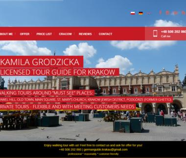 Oprowadzanie Kraków
