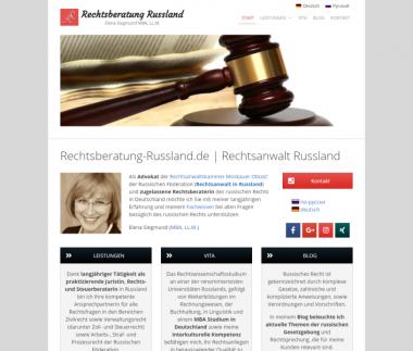 Rechtsberatung Russland