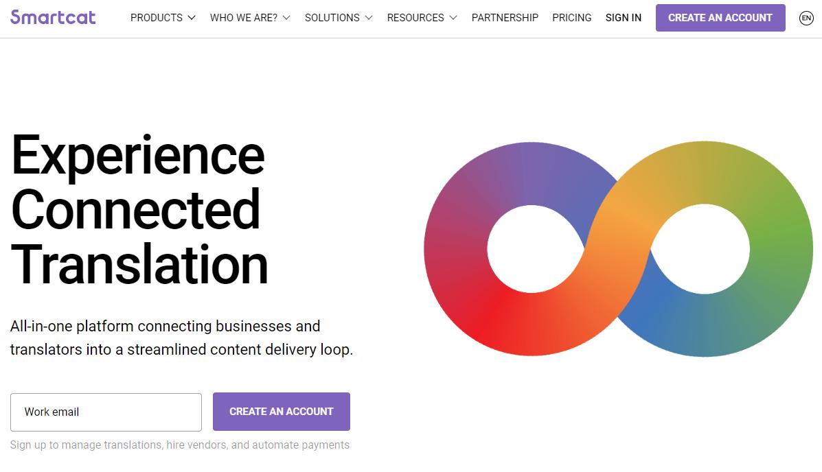 Smartcat homepage