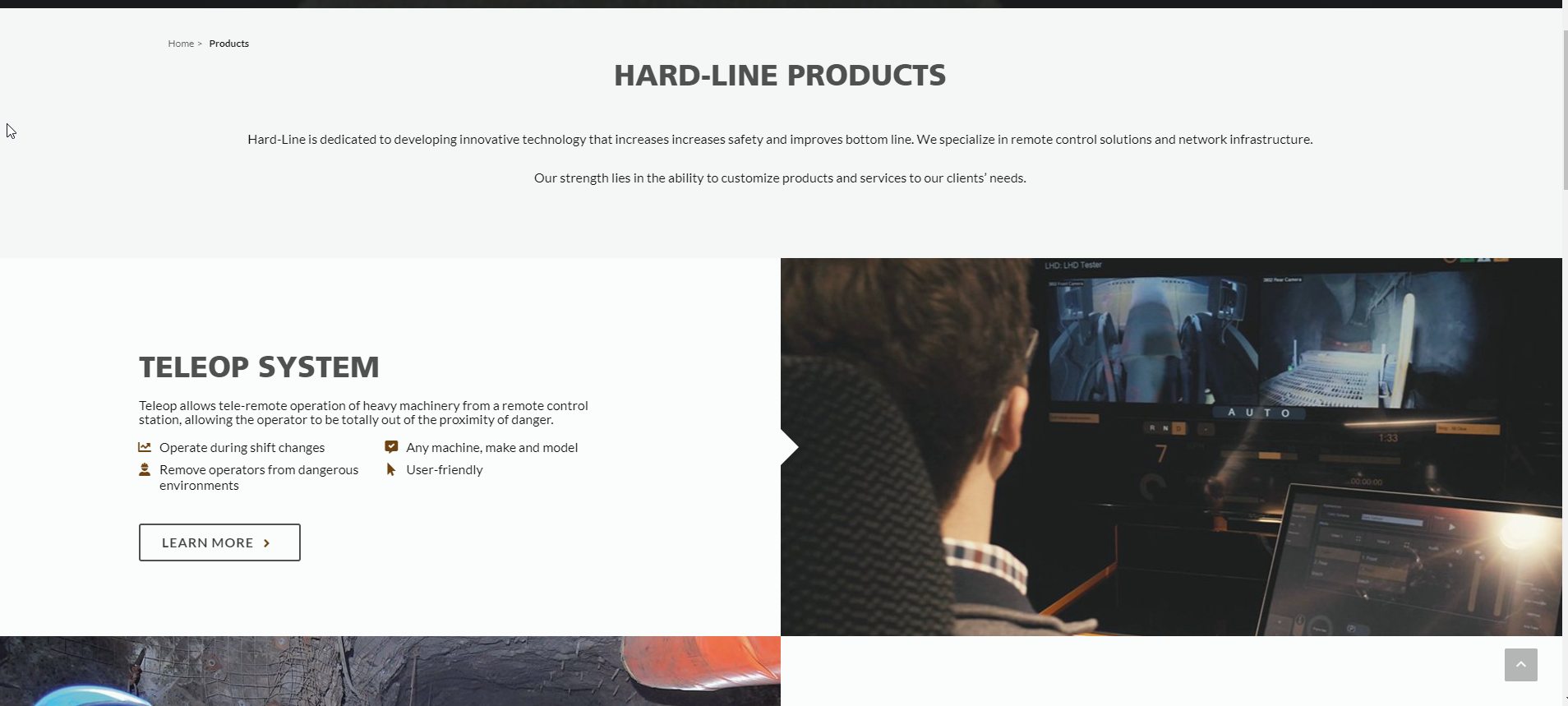 English site - products page.png
