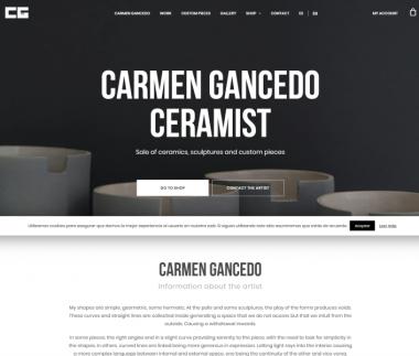 Carmen Gancedo Ceramista