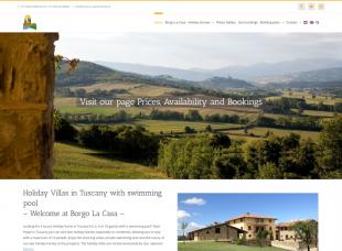 Tuscany Holiday Villa – Borgo La Casa