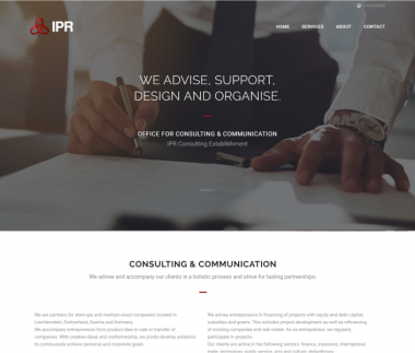 IPR – Office for Strategy Consulting & Communicaton