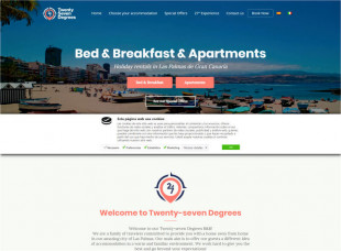 Twenty-Seven Degrees – Bed & Breakfast y Apartamentos