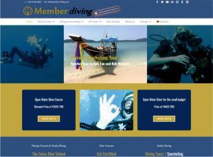 Member Diving, Koh Samui