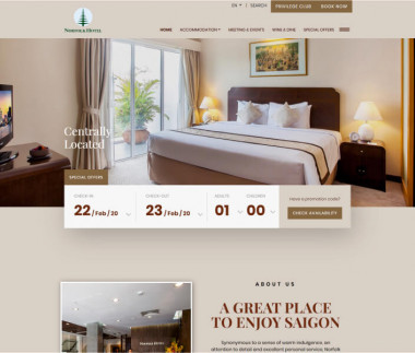 Norfolk Hotel - the best location to stay in Saigon