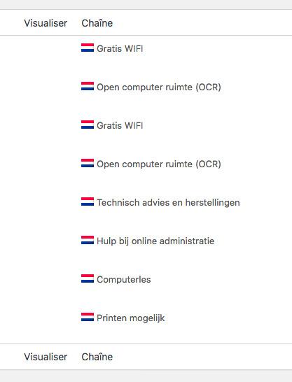 NL Traduction de chaînes ‹ De Schakel — WordPress.jpg