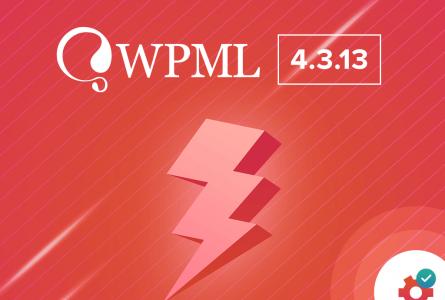 WPML 4.3.13 Release