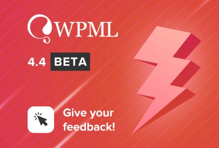 WPML 4.4 Beta