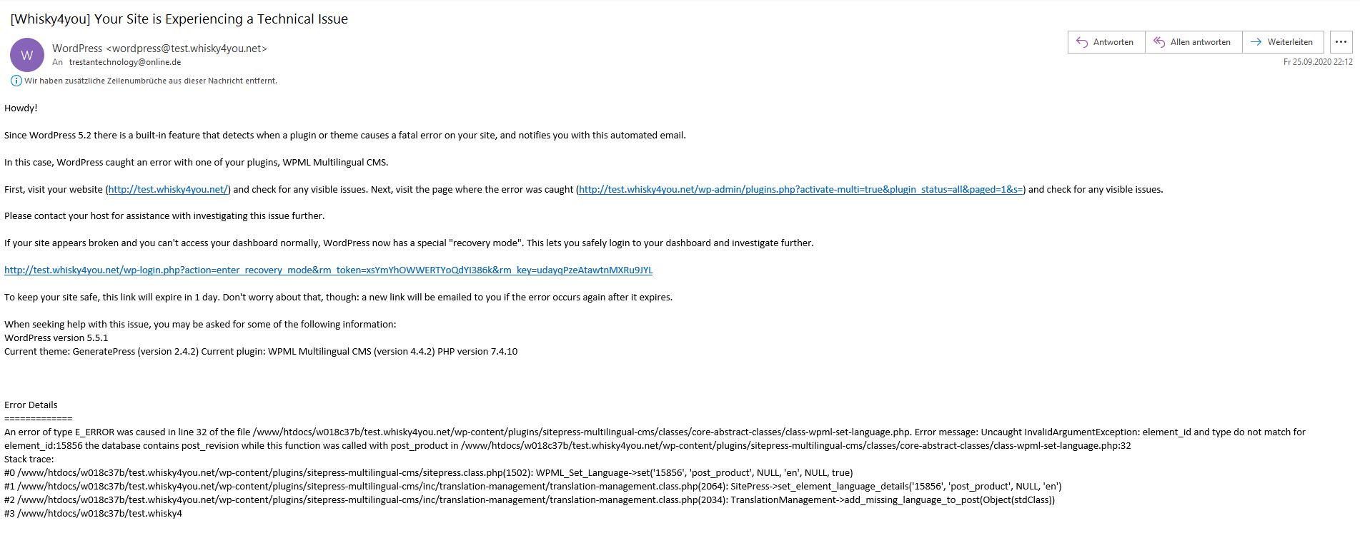 Fehlermeldung WPML Multilingual CMS.JPG