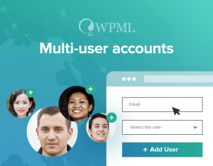 Add more users to your WPML account