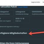 German User Dashboard Membership.jpg