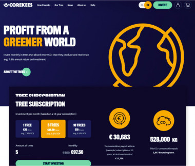 COREKEES - Profit from a greener world